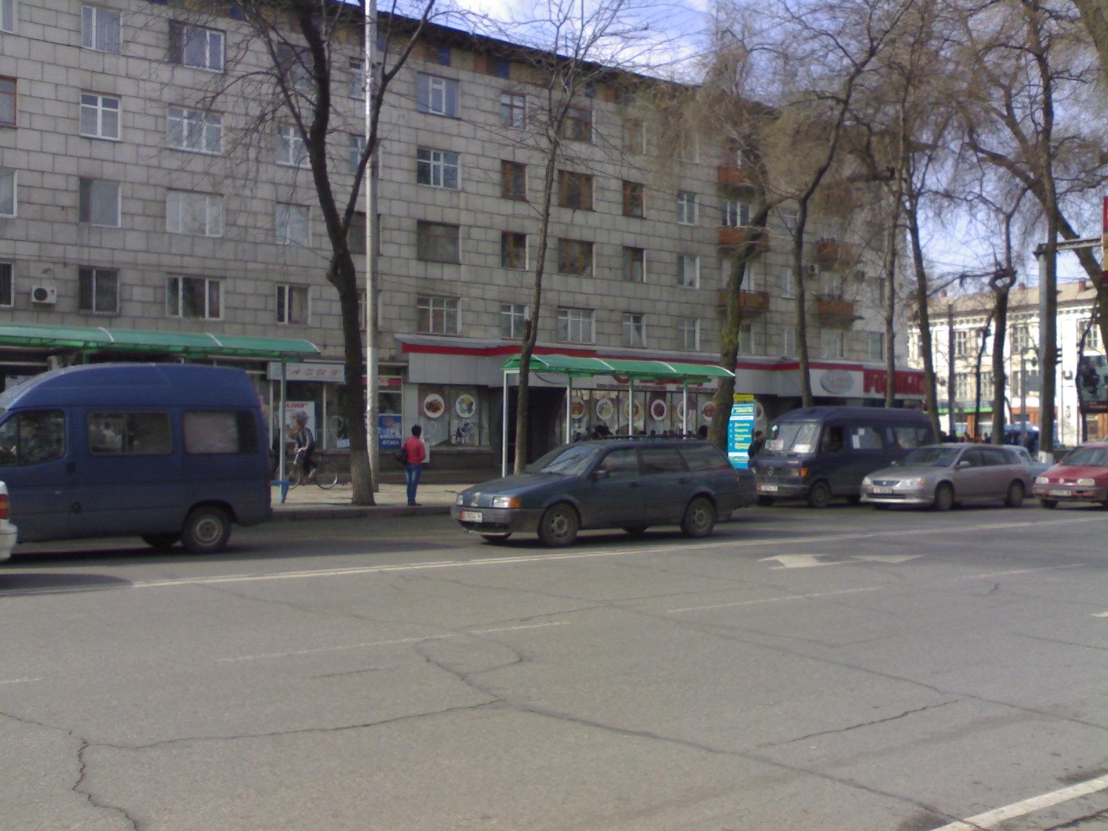 """090. Магазин """"Народный"""", пр. Чуй / Белинского"""