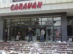 """020. Супермаркет """"Караван"""", ул. Киевская"""
