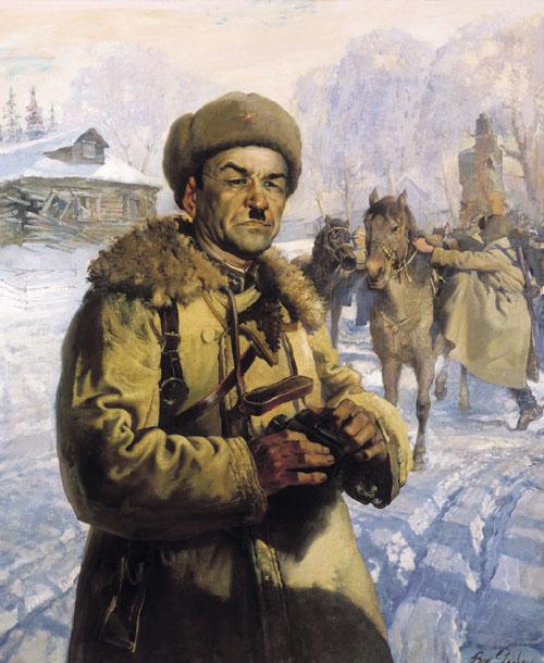 В. Яковлев. Портрет генерала Панфилова
