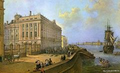 Вид набережной и Мрамороного дворца
