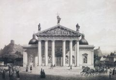 Кафедральный собор Св. Станислава в Вильне 1847