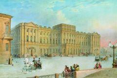 Вид Мариинского дворца 1