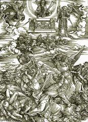 Святой Иоанн и двадцать четыре старца на небесах
