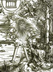Святому Иоанну дана книга откровений