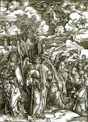 Четыре Ангела и поклонение Избранному
