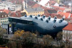 31. Graz Art Museum - Музей искусств в Граце, Австрия.jpg