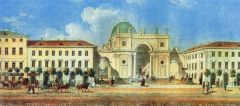 Панорама Невского проспекта. 1830-е..jpg