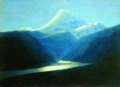 Эльбрус вечером. 1898-1908.jpg