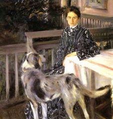 Портрет жены художника 1903.jpg