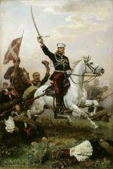 Генерал Н. Д. Скобелев на коне. 1883.jpg