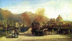Пиза. Вид на баптистерий и собор. 1863.jpg