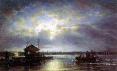 Летняя ночь на Неве у взморья. 1875.jpg