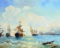 Ревельский бой 2 мая 1790 года. 1860-е.jpg
