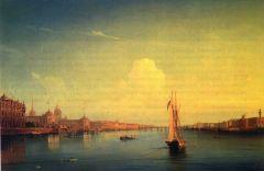 Петербург при закате солнца.jpg