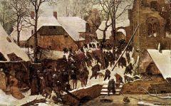 Поклонение волхвов в зимнем пейзаже, 1567.jpg