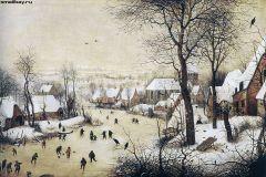 Пейзаж с конькобежцами и ловушкой для птиц, 1565.jpg