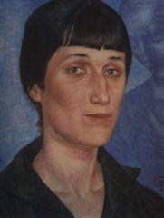 Портрет А. А. Ахматовой. 1922.JPG
