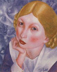 Портрет Рии (Портрет А. А. Холоповой). 1915.JPG