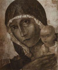 Мадонна с младенцем. 1923.JPG