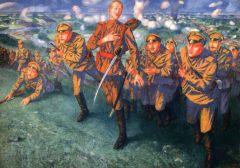 На линии огня. 1916.jpg