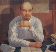 Портрет В. И. Ленина. 1934.JPG