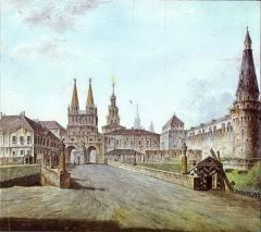 Вид Москвы около Иверских ворот Кремля. 1800.jpg