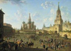 Красная площадь в Москве. 1801.jpg