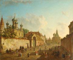Москва. Вид от Лубянки на Владимирские ворота.jpg