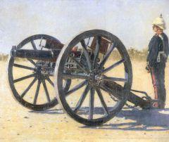 Пушка. 1882г. Этюд