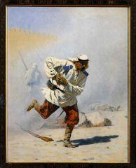 Смертельно раненый. 1873г