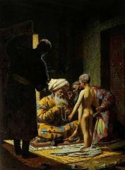 Продажа ребенка невольника. 1872