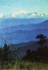 Гималаи вечером. 1876г
