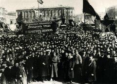 Празднование 1 Мая. Дворцовая площадь
