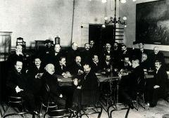 Заседание Русского технического общества, посвященное 75 летию фотографии