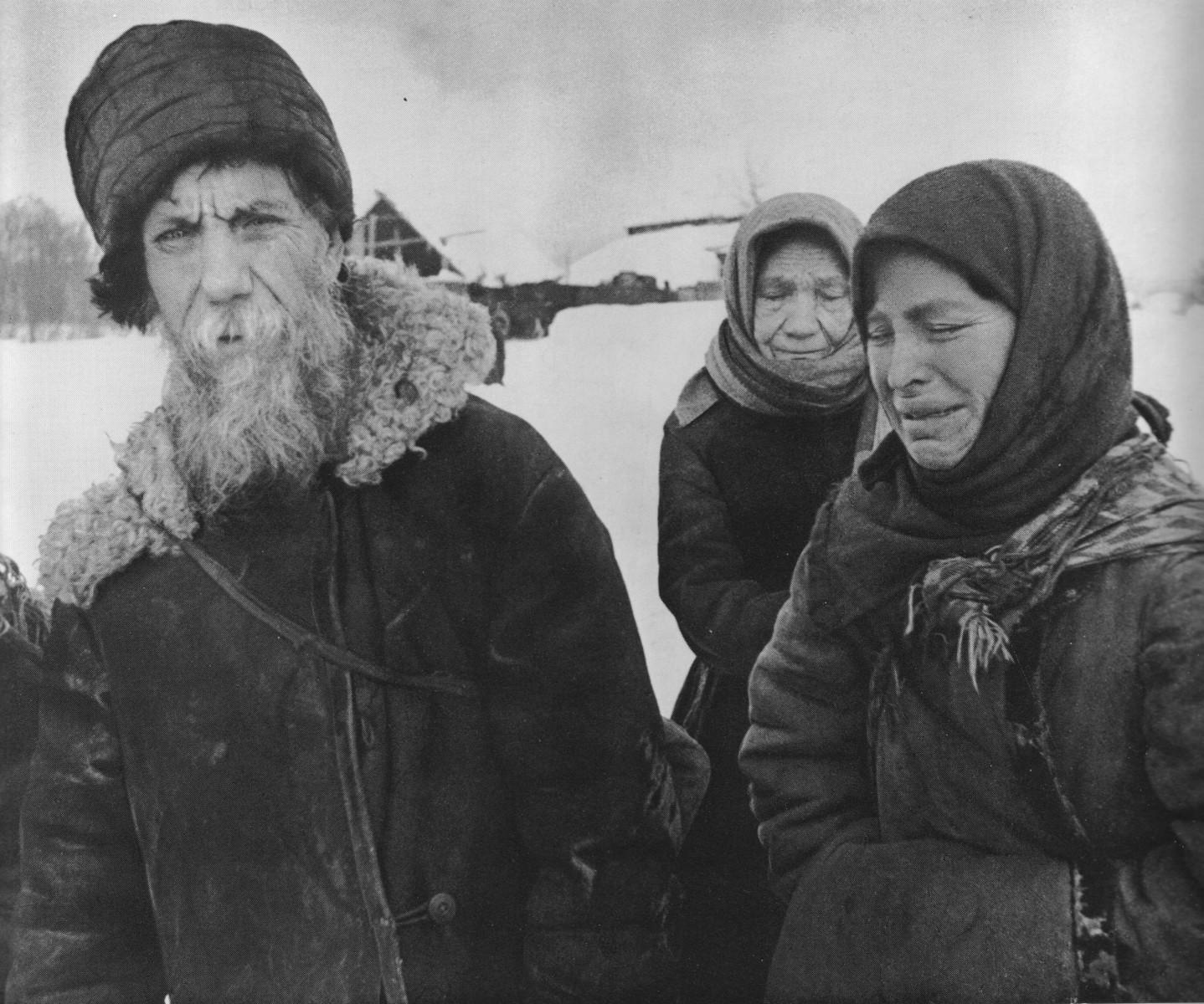 Аркадий Шайхет: Беженцы Под Истрой