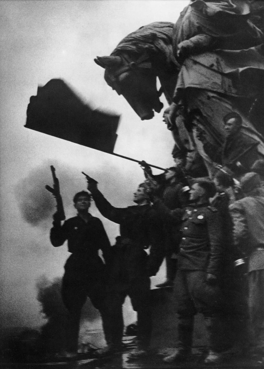 Иван Шагин: Залп в честь Победы