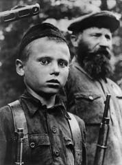 Михаил Трахман: Юный партизан