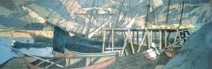 У становища корабля. 1899