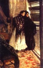 У балкона. Испанки Леонора и Ампара. 1888 89