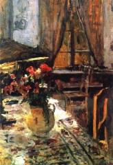 Сумерки в комнате. 1880 е