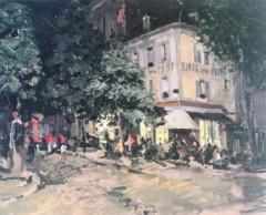 Улица в Виши. 1911