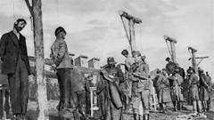 Казнь австро-венграми 17-ти пленных чехословацких легионеров в Екатеринославе в апреле 1918 года.