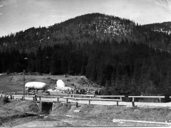 Летная база среди гор. 1915 г.