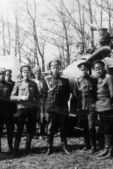 Генерал-майор Снесарев А.Е. в 7-м истребительном авиаотряде И.А.Орлова