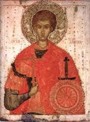 Великомученик Дмитрий Солунский Вторая четверть ХV века