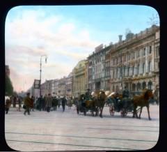 Перекрёсток Невского проспекта и Садовой улицы