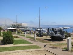 Корабельное вооружение на набережной Вальпараисо
