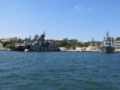МРК Мираж и Самум на стоянке в Севастополе