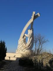 Памятник коронации Святого Иштвана - первого короля Венгрии