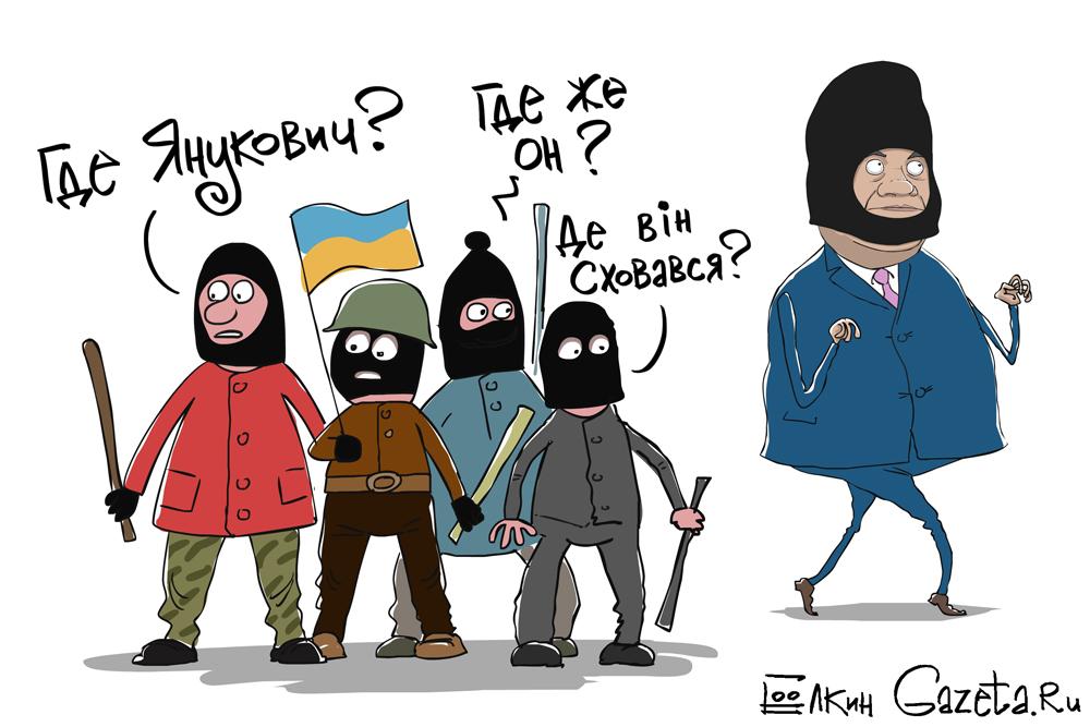 Виктора Януковича ищет вся Украина